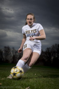 Clarkston High School girls varsity soccer