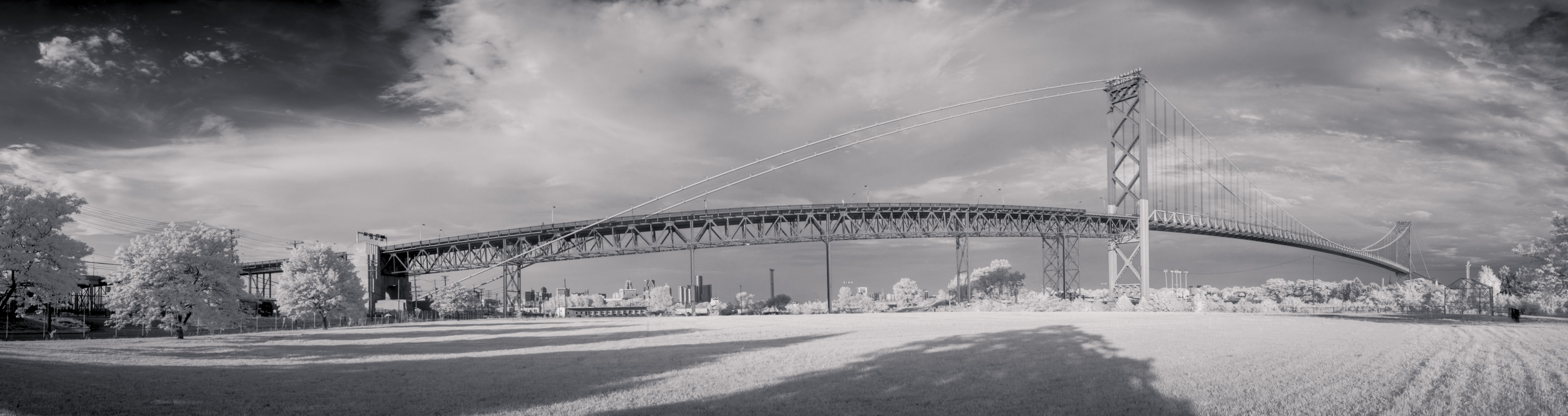 Infrared panoramas Detroit